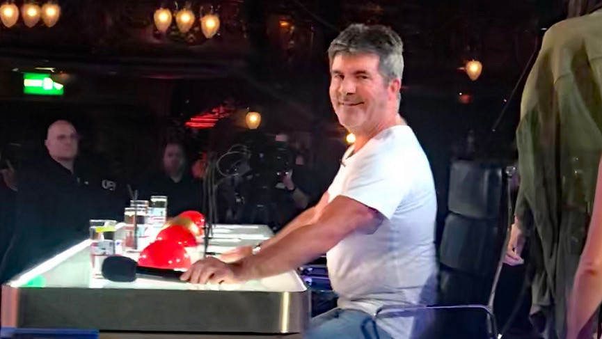 Simon Cowell at Britain's Got Talent London auditions | © justsimoncowell.com.