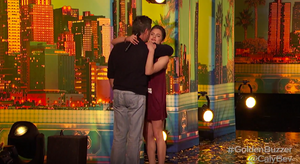 Simon Cowell Golden Buzzer on America's Got Talent