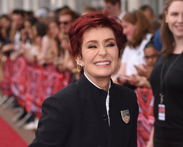 Sharon Osbourne on the X Factor Red Carpet in London
