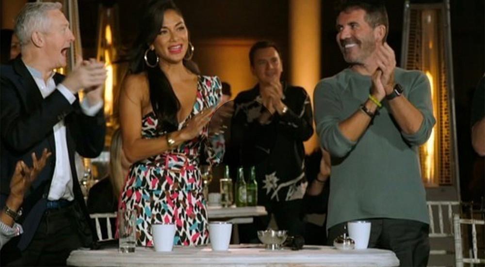 X Factor: Celebrity - The judges: Simon Cowell, Louis Walsh, Nicole Scherzinger