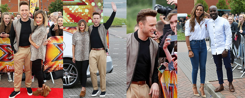 X Factor and Xtra Factor hosts