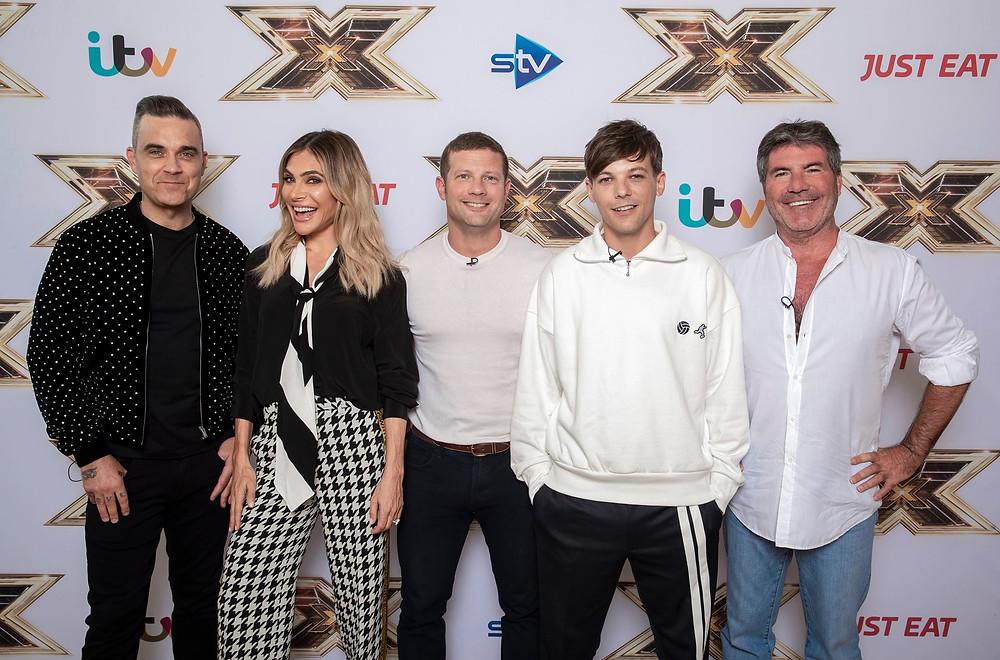 X Factor judges line-up 2018