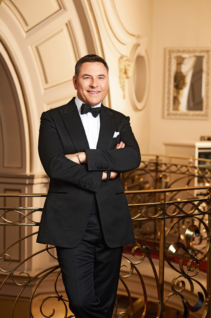 David Walliams in the Britain's Got Talent photo shoot 2018