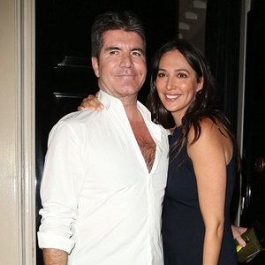 Simon Cowell and Lauren Silverman at The Arts Club