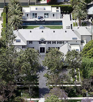 Simon Cowell's Los Angeles home