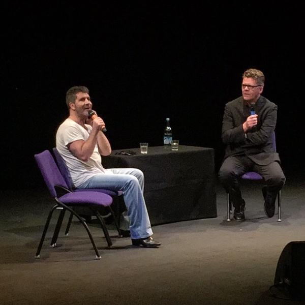 Simon Cowell at the Brit School