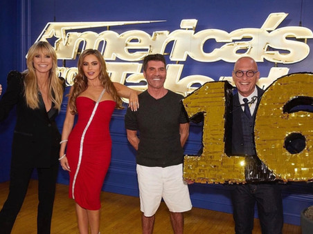 Simon Cowell gets pied in the face in the new AGT teaser