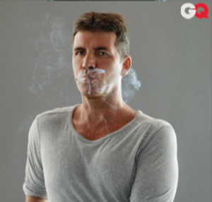 simon cowell photo shoot for GQ magazine