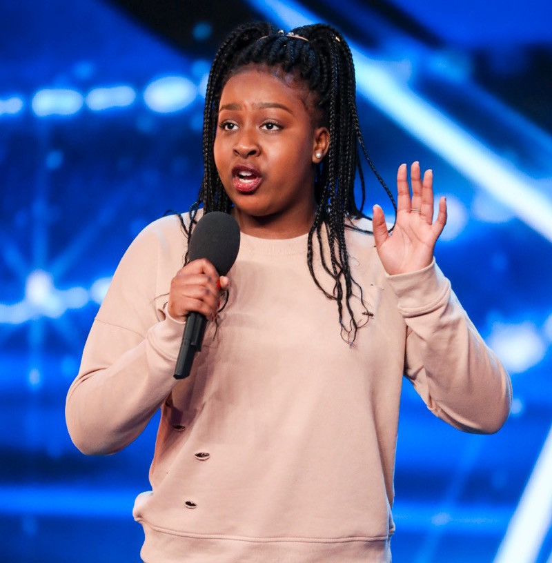 Sarah Ikumu on Britain's Got Talent 2017
