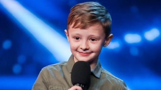 Ned Woodman on Britain's Got Talent 2017