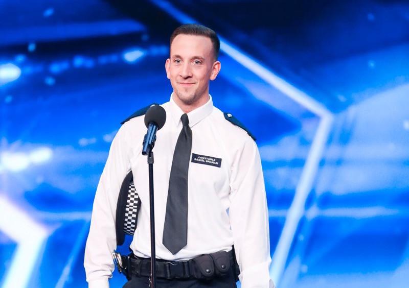 PC Dan on Britain's Got Talent 2017