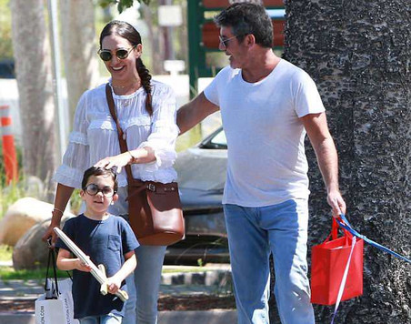 Eric Cowell wears a pair of glasses like dad.