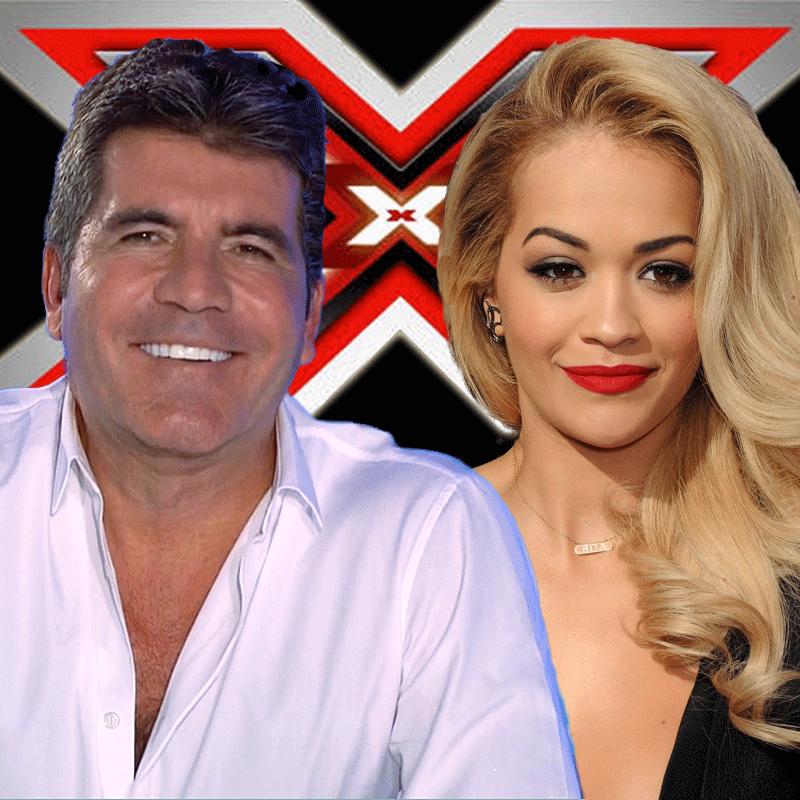 Simon Cowell, Rita Ora, X Factor