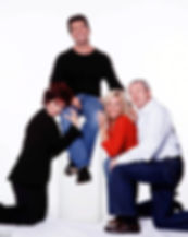 Simon Cowell, Sharon Osbourne, Louis Walsh photo for the first X Factor