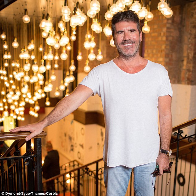 Simon Cowell at the X Factor Press launch