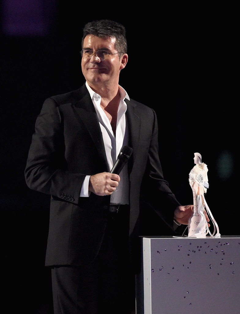 Simon Cowell at the Brit Awards