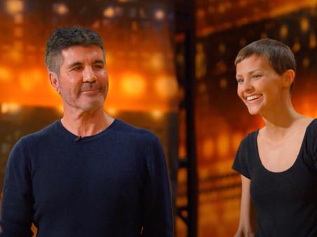 Simon Cowell gives his Golden Buzzer to the inspirational singer Nightbirde