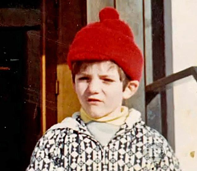 Simon Cowell as a child