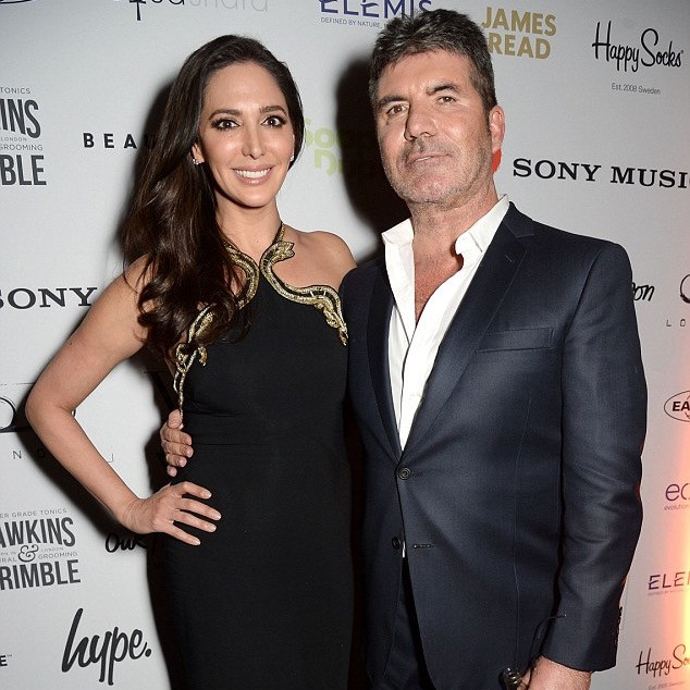 Simon Cowell and girlfriend Lauren Silverman