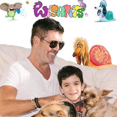 Simon Cowell and Eric launch a search for a co-writer for their 'Wishfits' book series