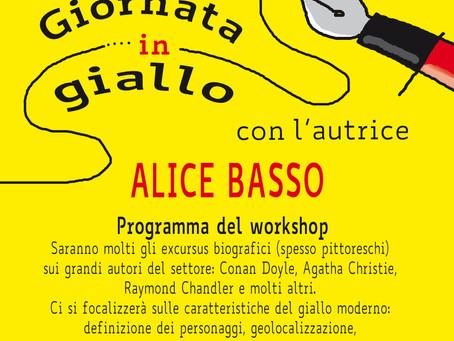 Giornata in giallo - Workshop con Alice Basso