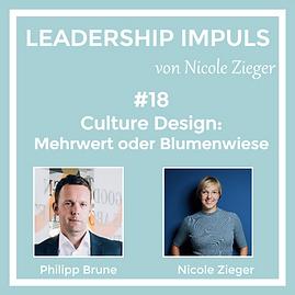 Podcastfolge 18 Culture Design Mehrwert oder Blumenwiese zu Gast Philipp Brune