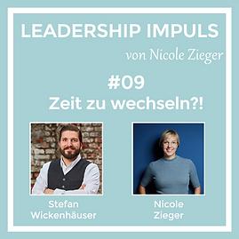 Podcastfolge 9 Zeit zu wechseln zu Gast Stefan Wickenhäuser