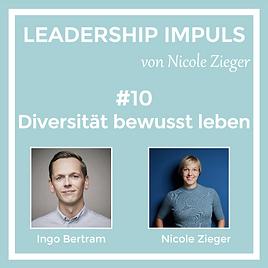 Podcastfolge 10 Diversität bewusst leben zu Gast Ingo Bertram