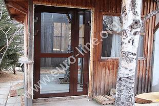 алюминиевые двери в Петропавловске-Камчатском, двери на заказ, не стандартные двери, стеклянные двери, двери на дачу, двери в частный дом, двери на Камчатке, перегородки