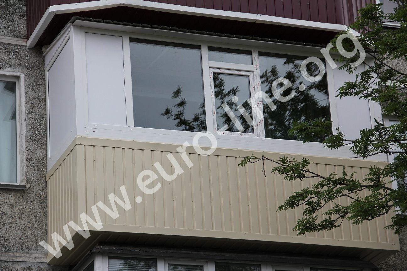 Балкон с расширением