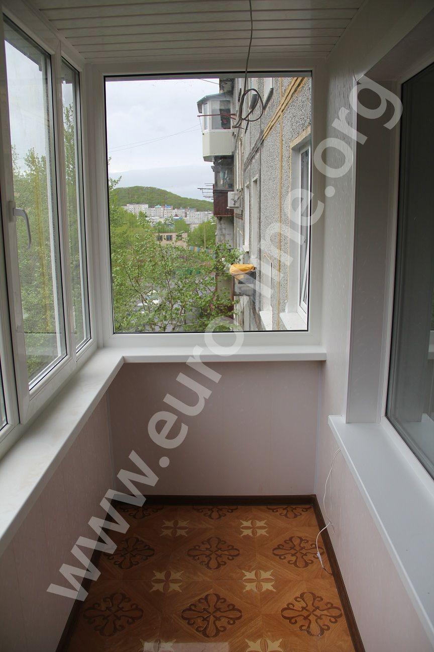 Внутренняя отделка балконам