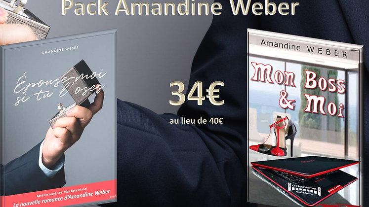 Pack Amandine Weber