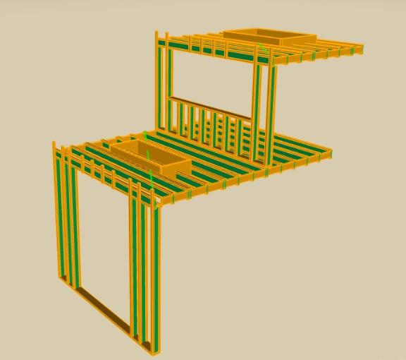 houtskelet WFR