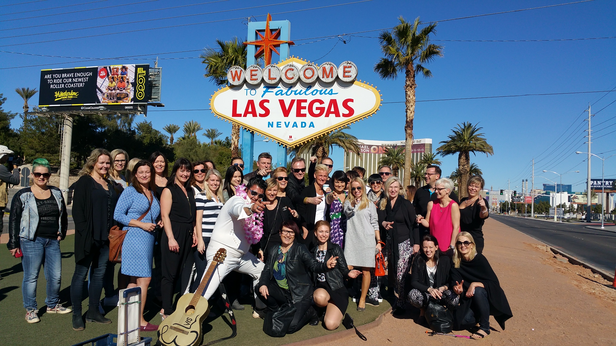 Las Vegas with Elvis Photo Op