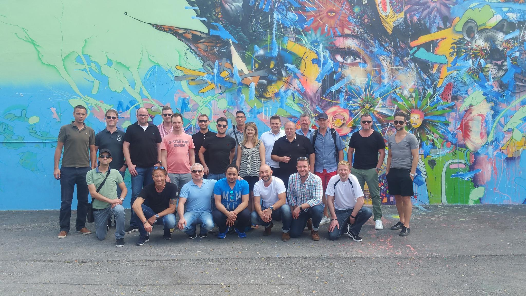 Wynwood Samsung group shot