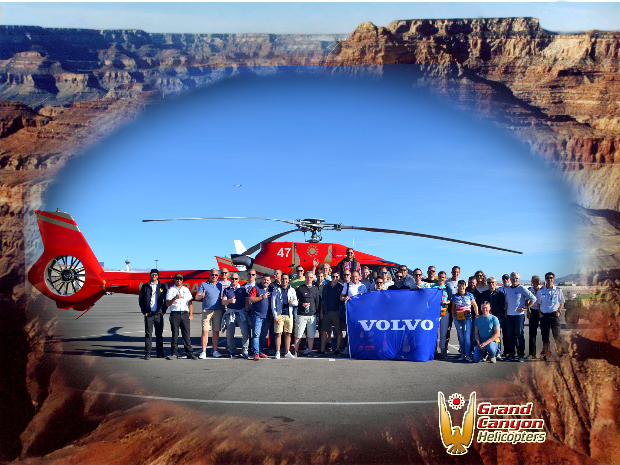Volvo Heli group Photo