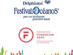 FESTIVAL DE LOS OCÉANOS DE DELPHINUS ES FINALISTA DE PREMIOS FUNDACOM 2020