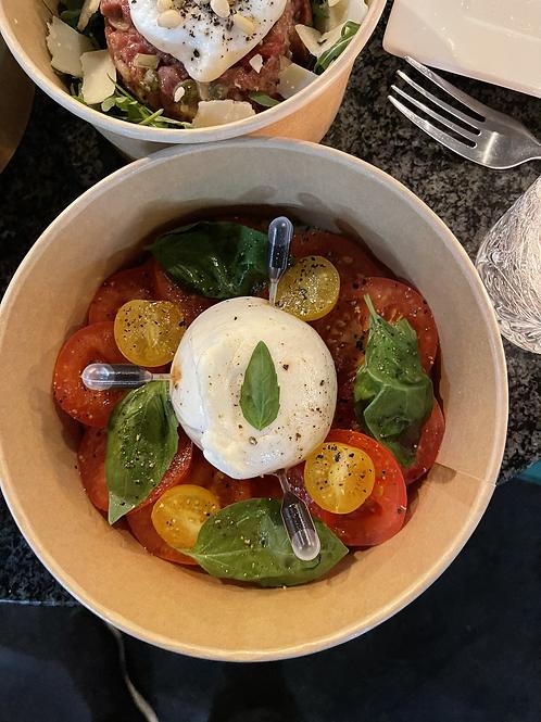 Burrata-tomaat-basilicum-balsamico
