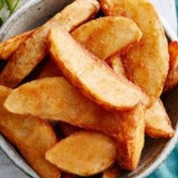 Gegratineerde aardappelwedges