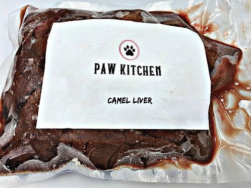 Camel liver meat - DIY for Dogs Raw Meals