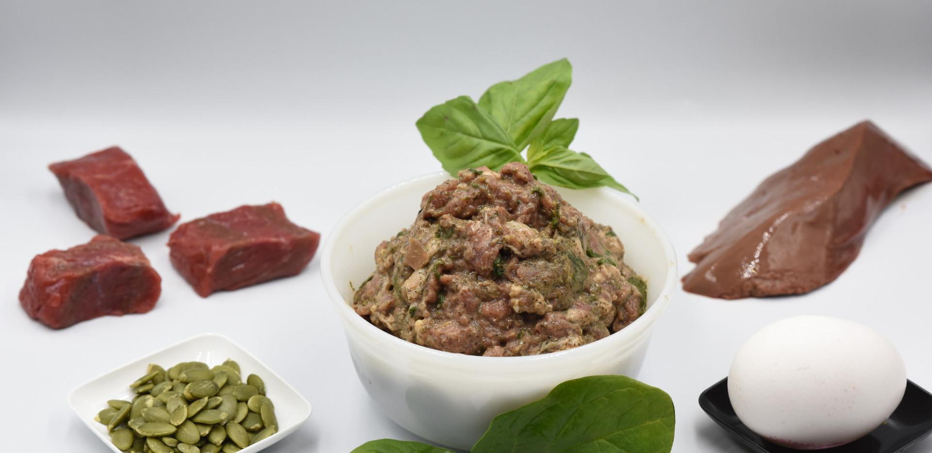 Beef & Organic Veg - Raw Dog Meal
