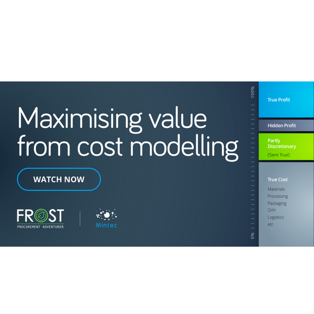 Maximising value from cost modelling (Dec 2020)