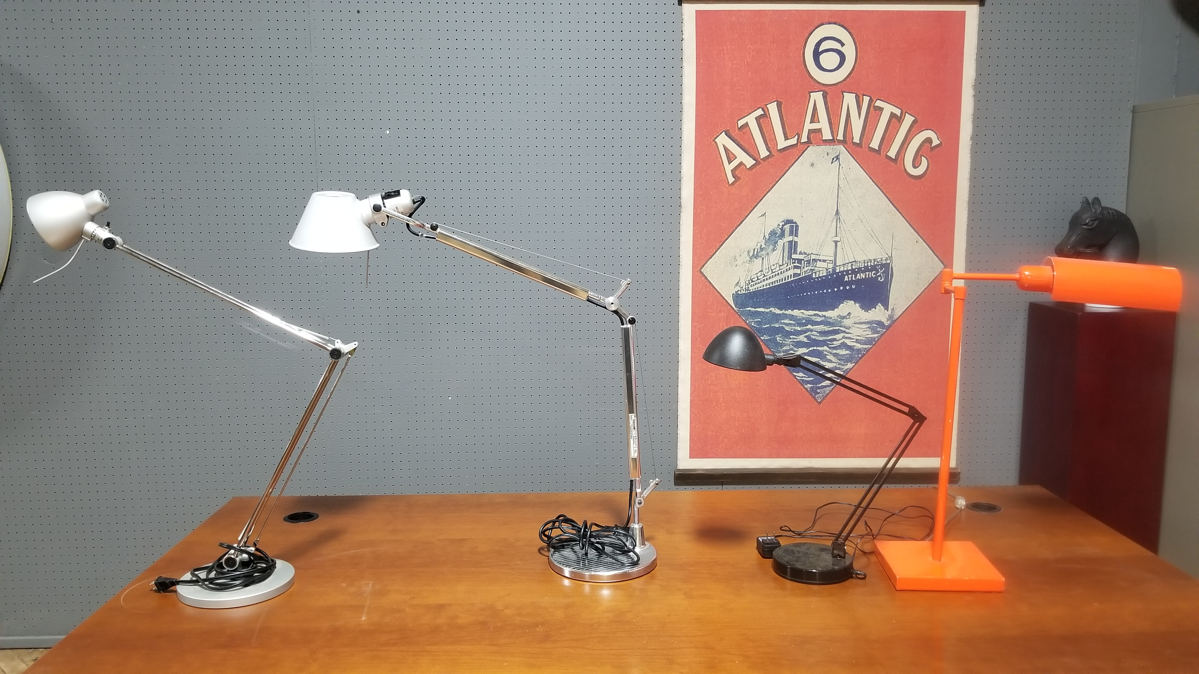 #128 Assorted Lamps