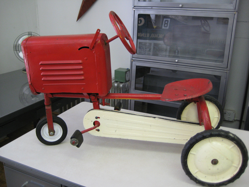 39. Vintage Child Size Tractor