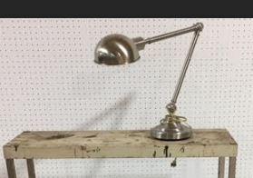 #97 Silver Lamp