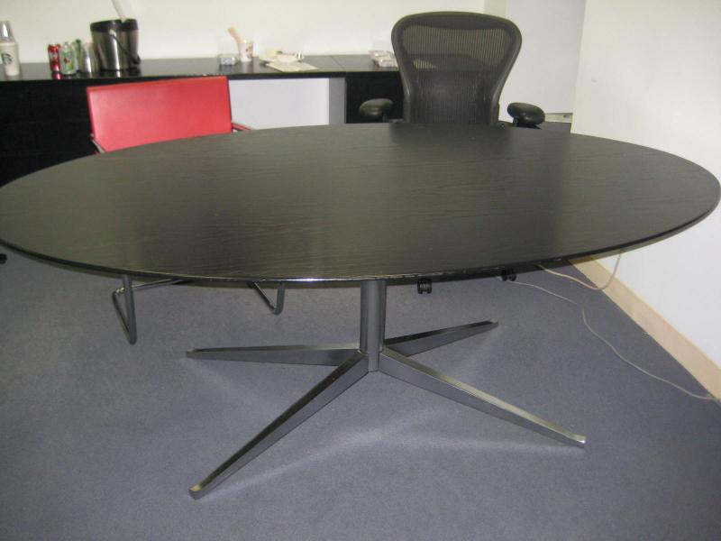 42. Florence Knoll Oval Table