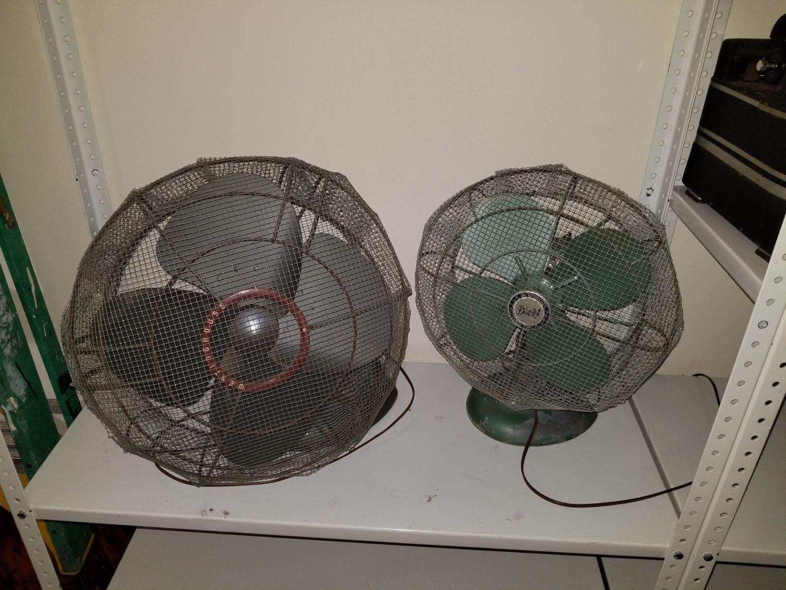 #110. Vintage Fans with Cover