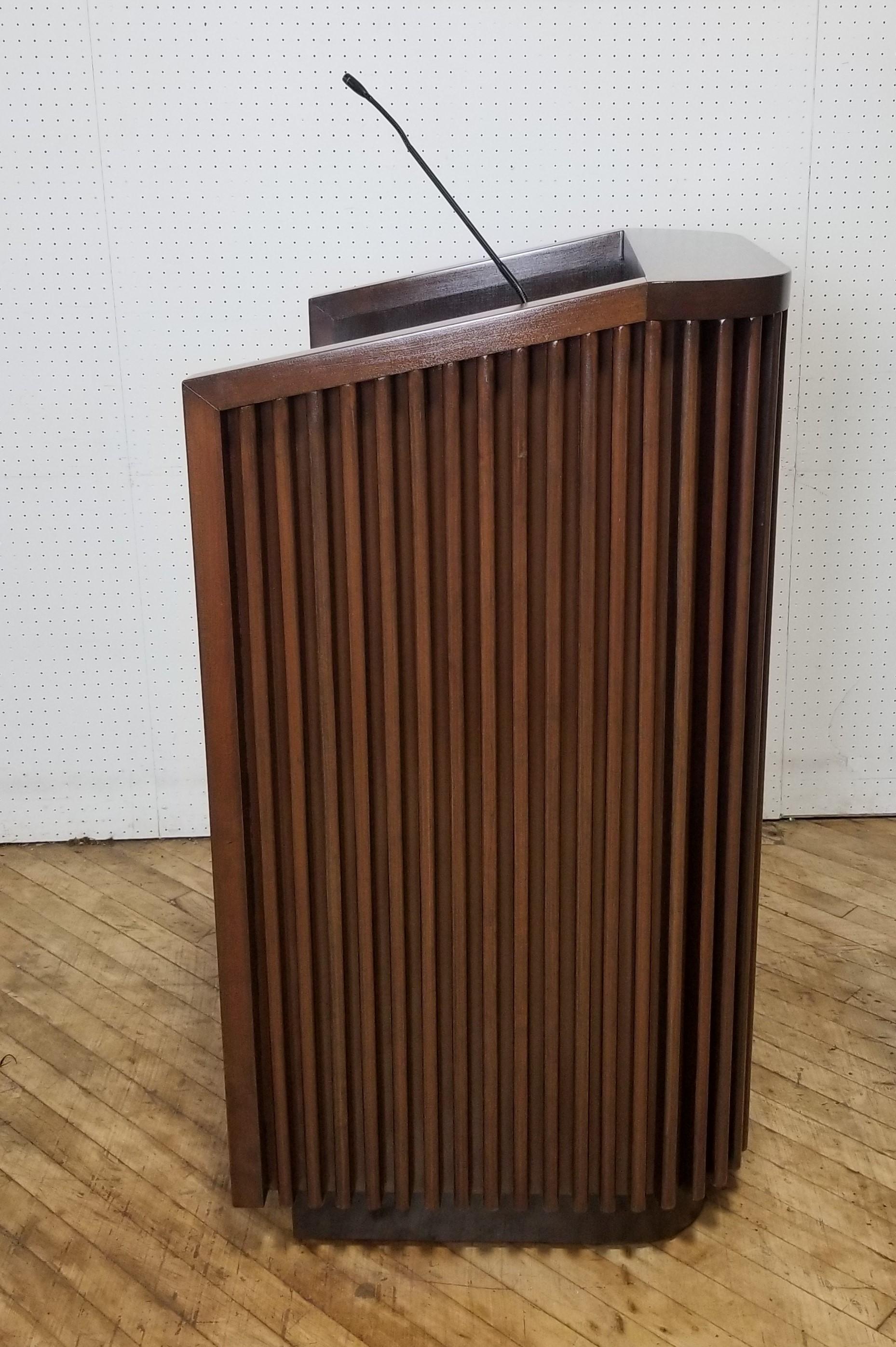 #119A. Side Wood Podium