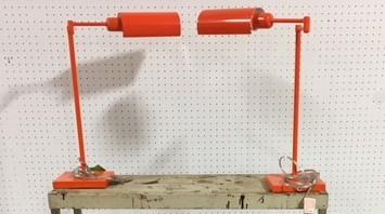 #98 Orange Lamps