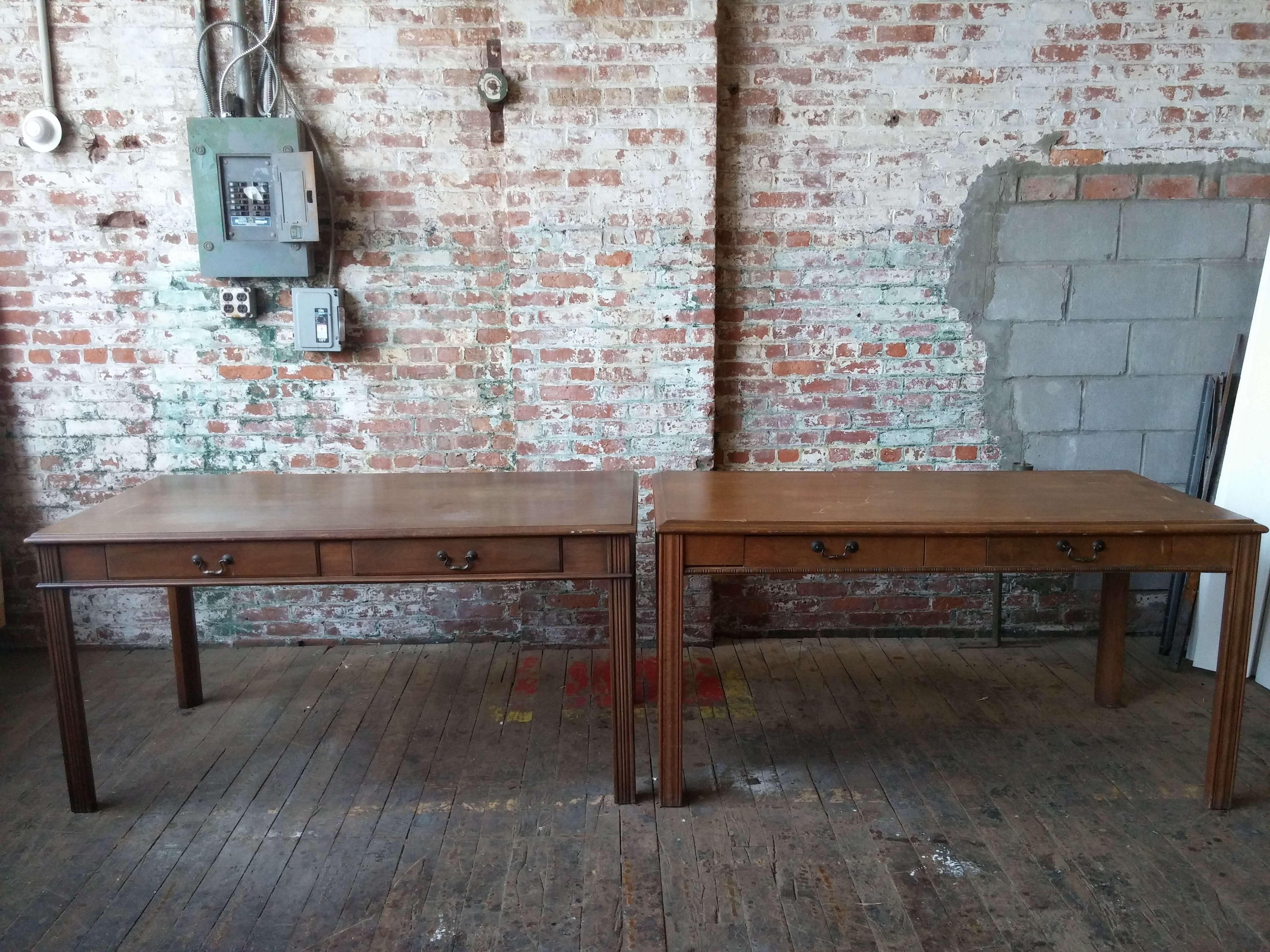 55. Courtroom Table 30x60